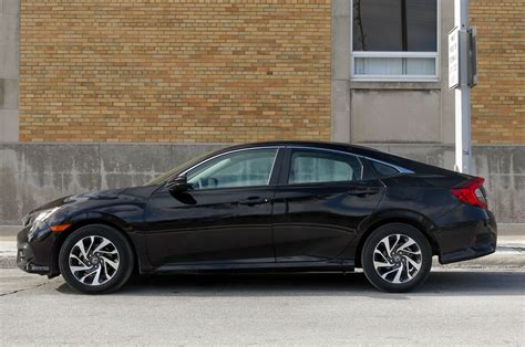 honda civic 2016 coupe 2016 honda civic ex sedan review automobile magazine