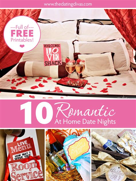 10 at home dates