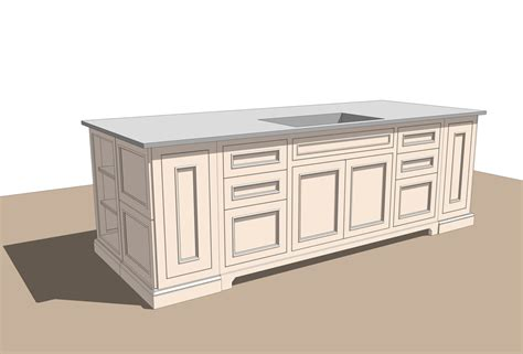kitchen sketchup models set