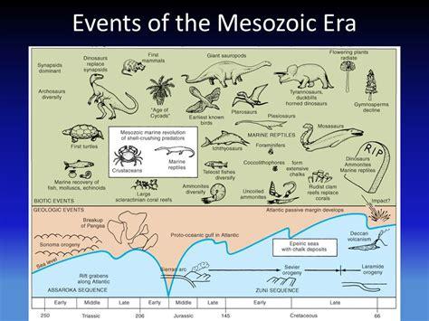 mesozoic era earth history geol 2110 the mesozoic era ppt