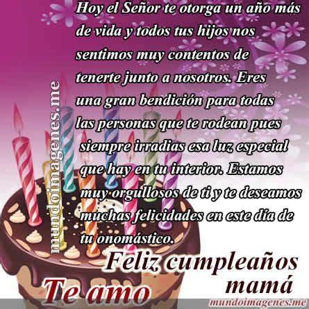 imagenes y frases de cumpleaños para mi madre imagenes de feliz cumplea 241 os mam 225 con frases bonitas
