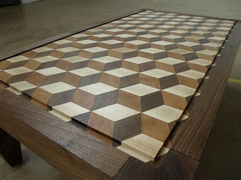3d woodworking 3d coffee table