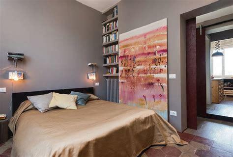 parete grigia da letto great da letto con pareti grigie e pavimento