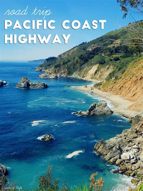 The Pch - road trip pacific coast highway trips california travel and pacific coast
