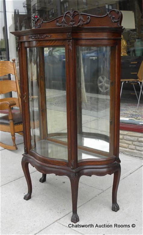 oak curio cabinets for sale rare rj horner quartered oak diminutive curio cabinet for