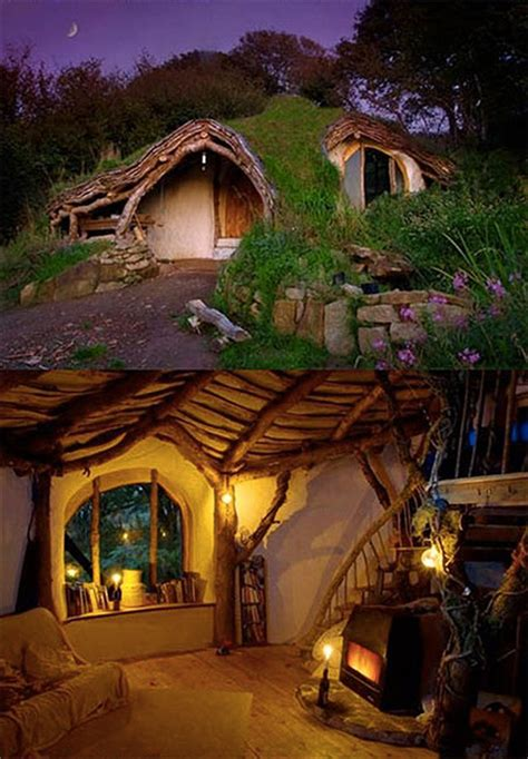 real hobbit house guy single handedly builds real life hobbit house in