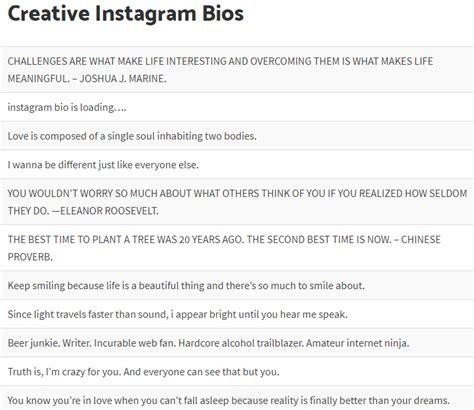 List Of Funny Instagram Bios Status Ideas Whitedust | best instagram bios sm65 187 regardsdefemmes