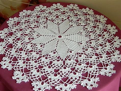 Crochet Motif Patterns For Tablecloth Part 5 How To Join crochet how to crochet doily tutorial 1 5 part 1