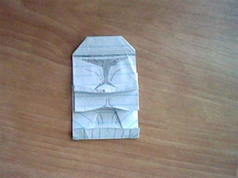 origami r2d2 finger puppet darth maul stormtrooper clone trooper boba fold darth