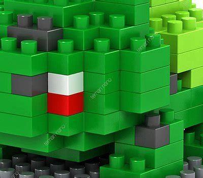 Kaos Bulbasaur jual bulbasaur 8325 lego nano block nanoblock di
