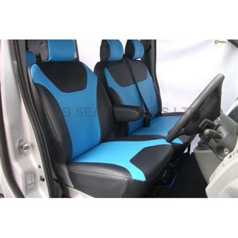 van seat upholstery mercedes vito 9 seater mini bus seat cover blue