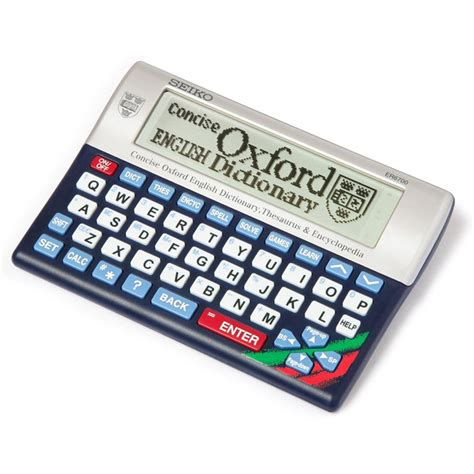 seiko er electronic concise oxford dictionary