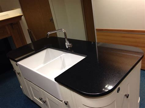 kitchen island worktop kitchen island black granite worktop double belfast sink