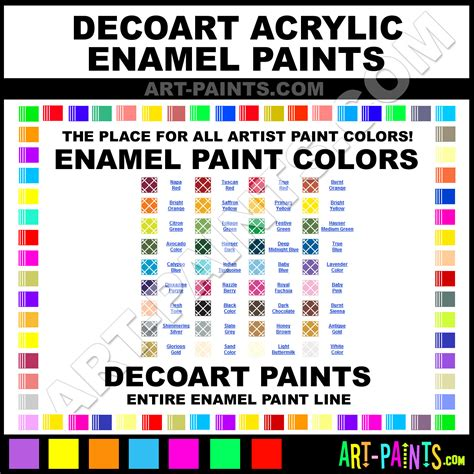 decoart acrylic enamel paint colors decoart acrylic paint colors acrylic color acrylic