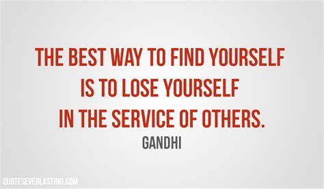 in the best way volunteer givers