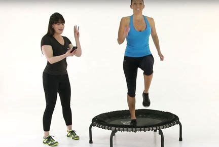 17 best ideas about troline workout on mini troline workout rebounding and