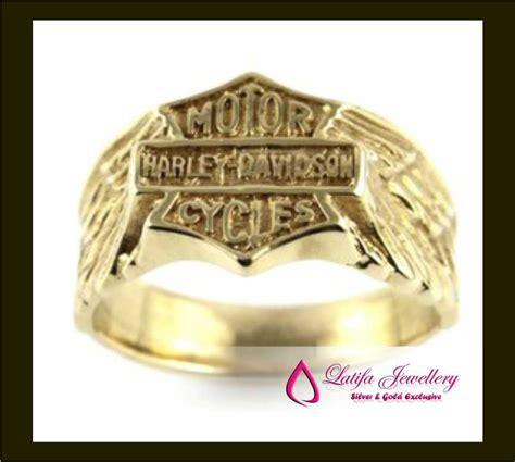 jual perhiasan harly davidson emas putih cincinmurah