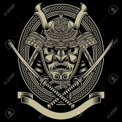 japan tattoo logo samurai mask google search relic art pinterest