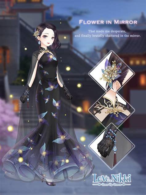 flower  mirror love nikki dress  queen wiki