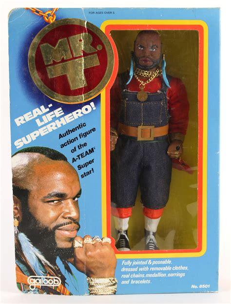 mr t figure lot detail 1983 galoob mr t a team 12 quot figure mib