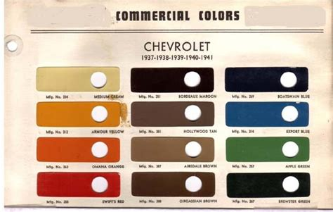 color chip selection auto paint colors codes colors and chips