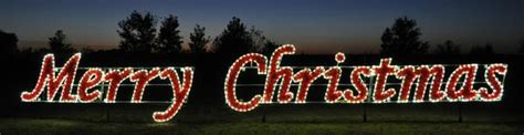 large lighted outdoor merry christmas sign sold in houston tx merry sign commercial series warm white 1121 w holidaylights