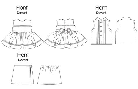 How To Make A Doll Dress Out Of Paper - butterick 5553 18 quot 46cm doll clothes