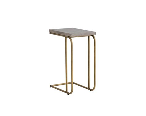 c shaped accent table parsons c shaped end table decorative table decoration
