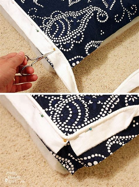 sewing a bench cushion bench cushion tutorial sewing pinterest dogs porch