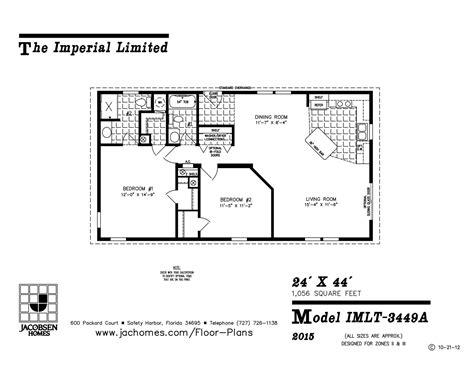 imlt 46412b mobile home floor plan ocala custom homes imlt 3449a mobile home floor plan ocala custom homes