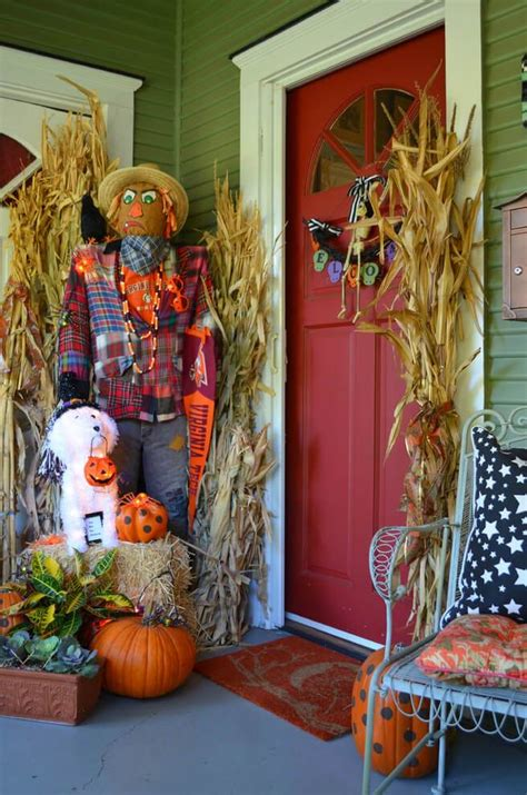 spooky diy halloween front porch decorating ideas