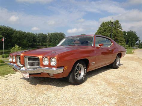 1971 pontiac gt37 pontiac le mans coupe 1971 orange for sale 233371z118810