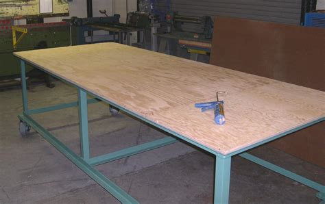 Metal Shop Table by Metal Shop Table Plans Plans Diy Free Diy Outdoor