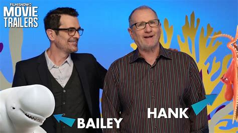 ty burrell dory ed o neill and ty burrell are hank bailey in finding