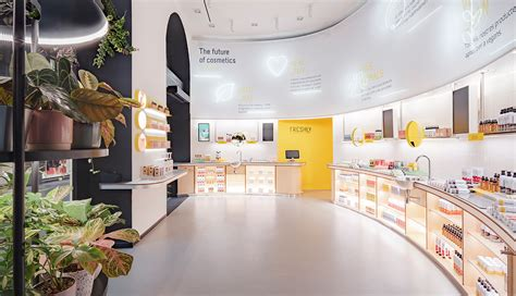 freshly cosmetics store barcelona spain culdesac