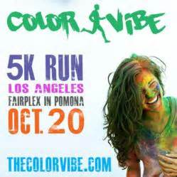 color run pomona color vibe 5k comes to pomona a colorful 5k for runners