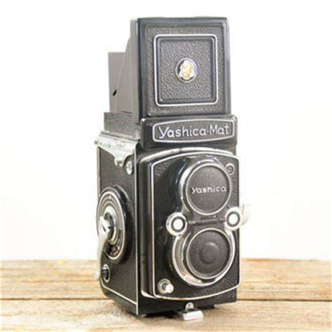 vintage yashica mat box reflex from theweekendshop on