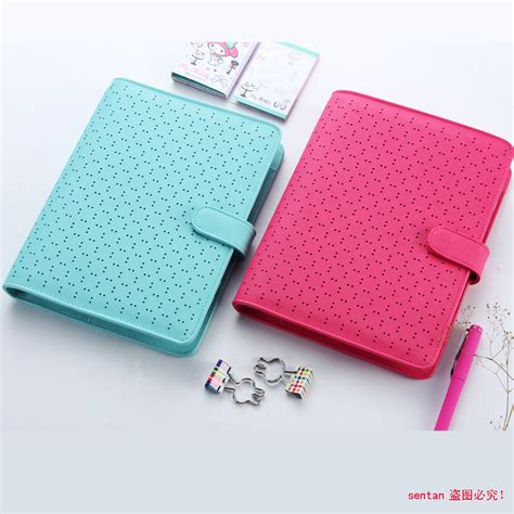 the life notebook 55 planner binder plus a disc with creative leather spiral notebook fine personal agenda