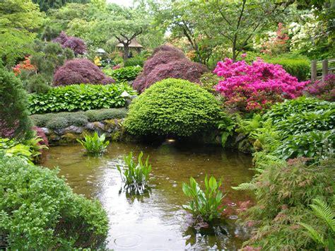 japanese garden butchart gardens victoria b c pond in t flickr