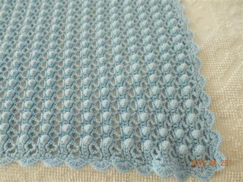 Crochet Popcorn Stitch Baby Blanket by Popcorn Stitch Large Baby Blanket By Jncenterprises On