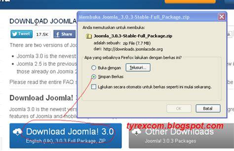Cara Membuat Website Dengan Joomla | belajar ngeblog cara membuat website dengan joomla bagian 1
