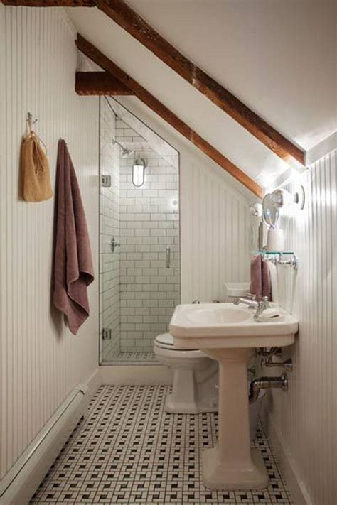 15 magnificient attic bathroom designs rilane