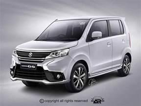 Maruti Suzuki Wagon R All Models Maruti Wagon R Facelift Rendered Like Aggressive Micro Suv