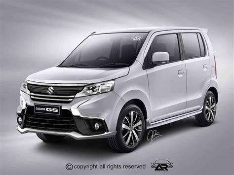Maruti Suzuki Wagon R Maruti Wagon R Facelift Rendered Like Aggressive Micro Suv