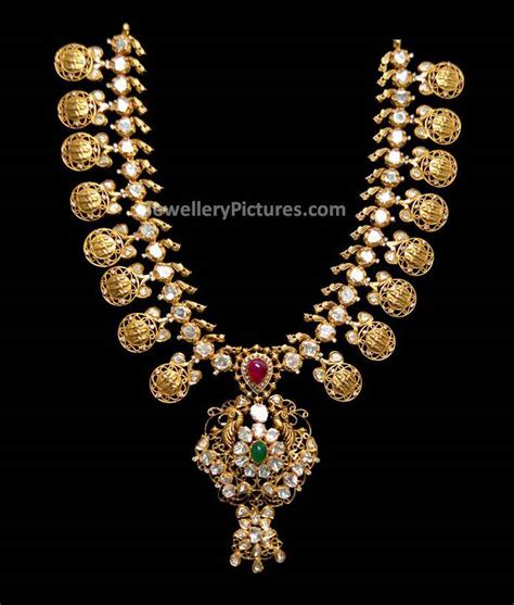 Designs With Price Gold Kasulaperu Designs With Price Jewellery Designs