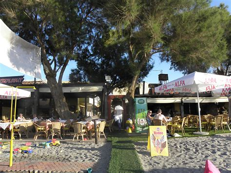 Home Design Gallery Chania Restaurant Beach Bar Restaurants Chania Chania