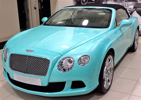 tiffany blue bentley 2014 bentley continental gtc gets tiffany blue color in