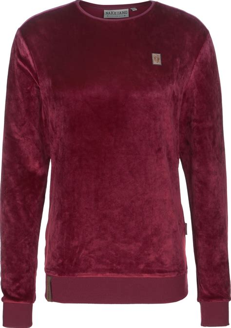 Sweater You Me Maroon naketano asgardian mack sweater maroon