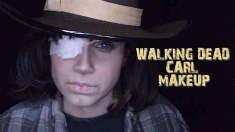 tutorial walking dead walking dead carl makeup tutorial youtube