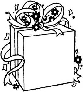 birthday gift coloring page birthday gift package coloring page supercoloring com